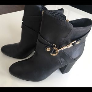 Isola Black Ankle Boots